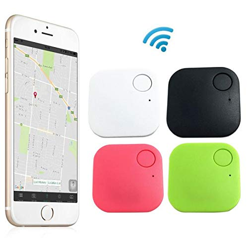 Waqia House 4 Pack Key Finder Phone Finder Anything Finder Bluetooth Item Finder Phone Finder Car Key Tracker Device Key Locator Tags Find Lost Keys Keychain Smartphone Wallet Luggage Amazon In Garden
