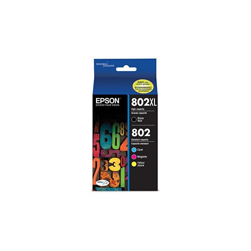 Epson T802XL-BCS DURABrite Ultra Black H