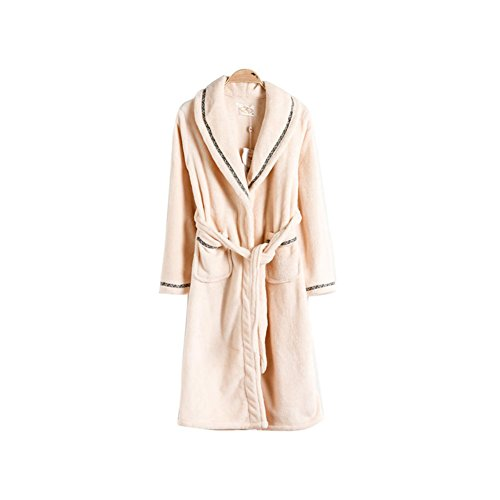 Warmjama Couples Womens Thick Winter Flannel Robe Loungewear Pajamas XL White by Warmjama