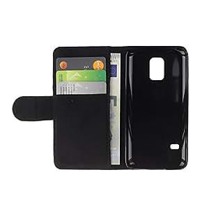Tapa RenCase/diario Funda de piel sintética con tarjetero para Samsung Galaxy S5 Mini, SM-G800 - Darth Maul sable de luz