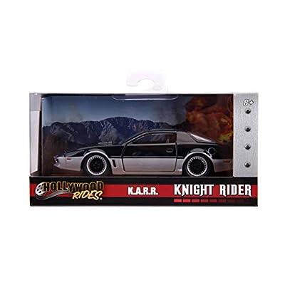 Jada Toys Hollywood Rides Knight Rider K.A.R.1982 Pontiac Firebird 1: 32 Scale Diecast Vehicle: Toys & Games
