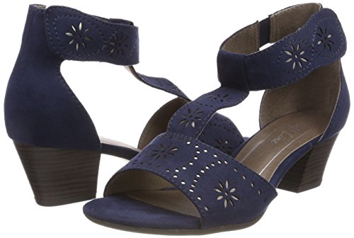 Women''s Ankle Sandals navy Blue 28362 Softline Strap U0nS6f