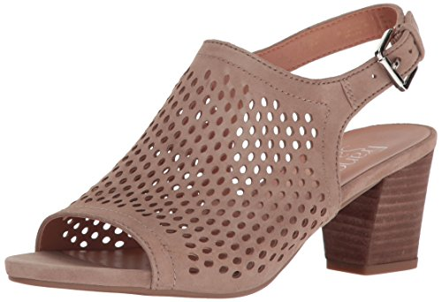 Franco Sarto Women L-monaco2 Dress Sandal Satin Taupe