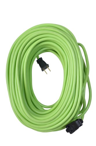 Yard Master 9940010 Outdoor Garden Extension Cord, Lime 120-Foot, Green