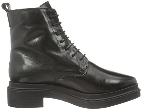 Bianco Women's Warm Polido 33-49031 Combat Boots, 1 Black (Black/10)