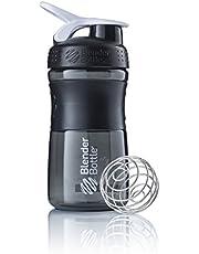 BlenderBottle Sportmixer, Tritan drinkfles met blenderbal, geschikt als proteïneshaker, eiwitshaker, waterfles of voor fitnessshakes, BPA-vrij