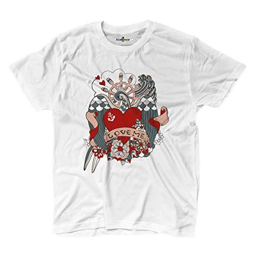 KiarenzaFD T-Shirt Tattoo Ink Tattoos Old School Love Me M ()