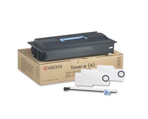 Kyocera 370AB016 Black Toner Cartridge For use with Kyocera/Copystar KM-2530, KM-3035, KM-3530, KM-4030, KM-4035, KM-5035, CS-3035, CS-4035, CS-5035, Ri 2530, Ri 3530 and Ri 4030 Copiers