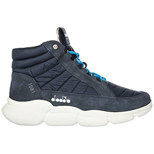 Diadora Heritage Scarpe Sneakers Alte Uomo Nuove Booth H Blu