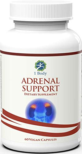 Adrenal-Support-Vegetarian-A-Complex-Formula-containing-Vitamin-B12-B5-B6-Magnesium-Ginger-Root-Extract-Astragalus-Root-Schizandra-Berry-Licorice-More-30-Day-Supply
