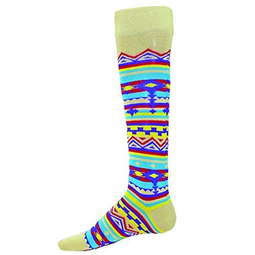 Red Lion Southwest Design Knee High Socks