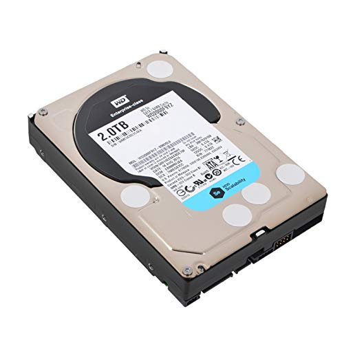 WD Se 2TB Internal Serial ATA Hard Drive for Desktops (OEM/Bare Drive) Black/Silver WD2000F9YZ