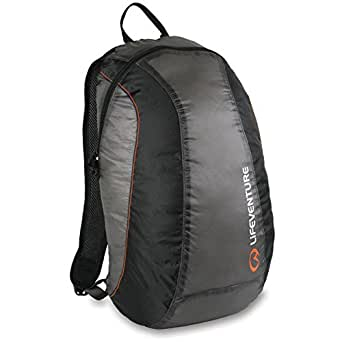 LifeVenture Ultralite Packable Daysack - Charcoal Charcoal
