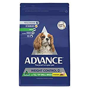 Advance Weight Control Small Breed Dog 2.5kg Chicken