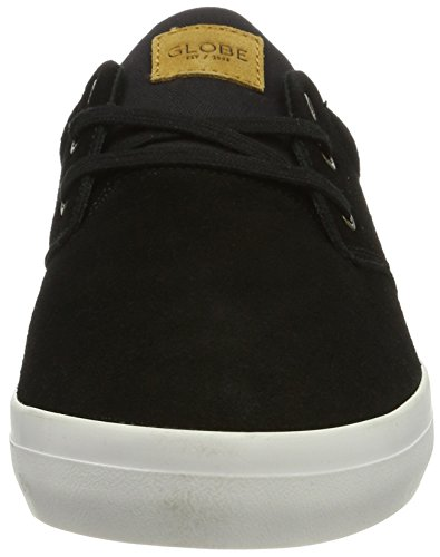 Globe Willow, Zapatillas De Skateboarding para Hombre Negro (Black/white)