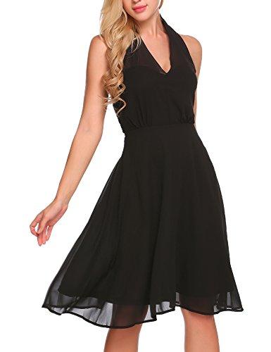 Ruched Little Black Dress - 3