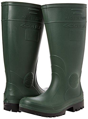 "Cofra 00010–053.w42Talla 42S4CI SRC–zapatos de seguridad de ""Hunter–Verde"