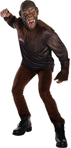 [Rubie's Costume Men's Dawn Planet Of The Apes Adult Caesar, Multicolor, Small] (Planet Of The Apes Costumes)