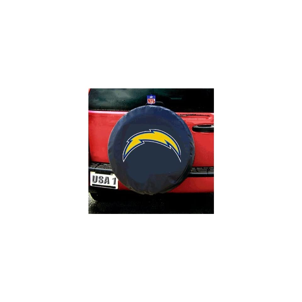 San Diego Chargers NFL Spare Tire Cover (Black)
