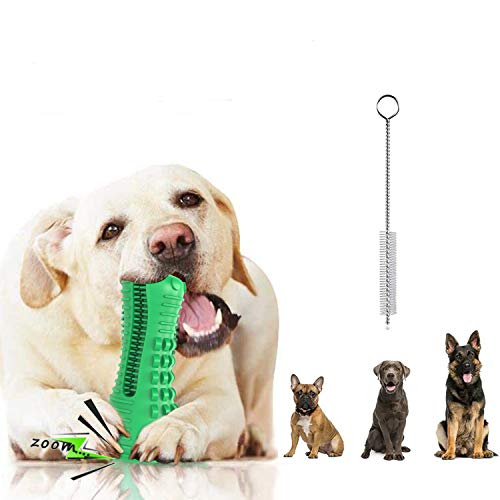 Dog Chew Toys, Indestructible Tough Durable Dog Toothbrush Toys for Aggressive Chewers Dogs Dental Teeth Care