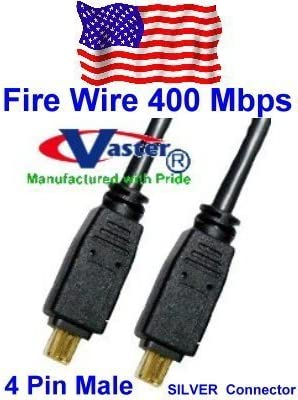 SuperEcable 20076-6 Ft 3 PCS//Pack DV iLink Fiwire Cable IEEE 1394 Firewire in DV iLInk Cable,4 P to 4 P