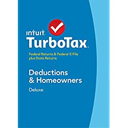 TurboTax Deluxe 2014 Fed + State + Fed Efile Tax Software - Win [Download] OLD VERSION