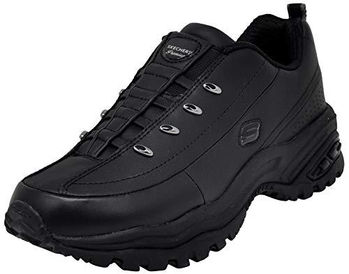 Skechers Sport Women's Premium-Premix Slip-On Sneaker, Black 9.5 M US