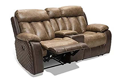 Amazon.com: Caselli Angel Reclining Loveseat: Kitchen & Dining