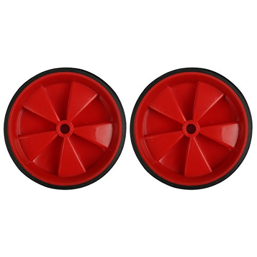 Herbalcandybox 4.33 Inch Kids Bicycle Training Replacement Wheels for 12- 20 Inch Kids Bike, Red (Tricycle With Training Wheels)