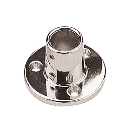 Sea Dog 286090-1 Round Base Rail Fitting, 90° (Sea Dog Fittings)