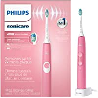 Philips Sonicare ProtectiveClean 4100 Rechargeable Electric Toothbrush (Deep Pink)