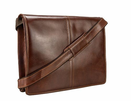 Visconti Vintage-7 Veg Tan Brown Soft Leather Messenger Bag Case ...