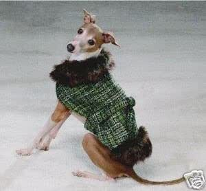 Amazon.com : Dog Coat - Pawsmopolitan Tweed Dog Coat