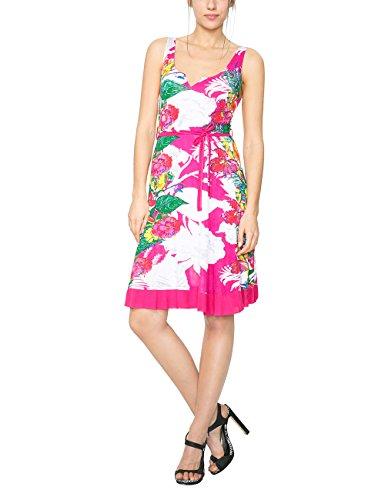 Desigual Hallen, Vestido para Mujer Rosa (Fresa Acid)