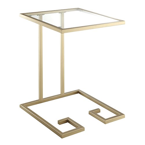 Carolina Chair and Table Alston Accent Table, Gold