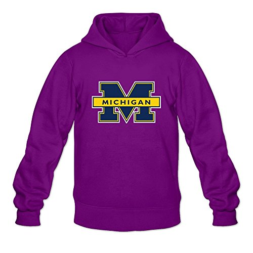 Qi'c Men's NCAA Michigan Wolverines Logo Sweatshirt for sale  Delivered anywhere in USA