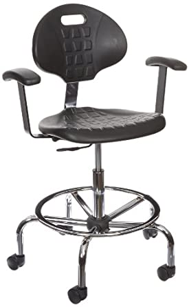 Benchpro Lct Uc Aa Deluxe Polyurethane Cleanroom Lab Chair