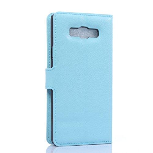 Funda Samsung Galaxy A7(model 2016),Manyip Caja del teléfono del cuero,Protector de Pantalla de Slim Case Estilo Billetera con Ranuras para Tarjetas, Soporte Plegable, Cierre Magnético(JFC10-10) G
