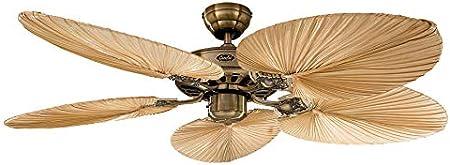 Ventilador de techo Classic ROYAL 132 cm Hojas de Palmera ...