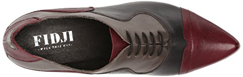 Fidji Womens V313 Oxford Wine Blu / Grigio