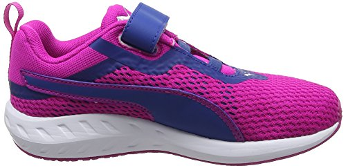 Puma Unisex-Kinder Flare 2 V PS Low-Top Pink (ultra magenta-true blue 04)