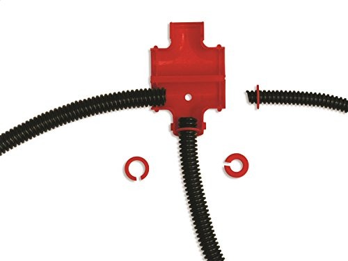 Taylor Cable 39120 Split Tee Adapter Kit red, 1 Pack from Taylor Cable