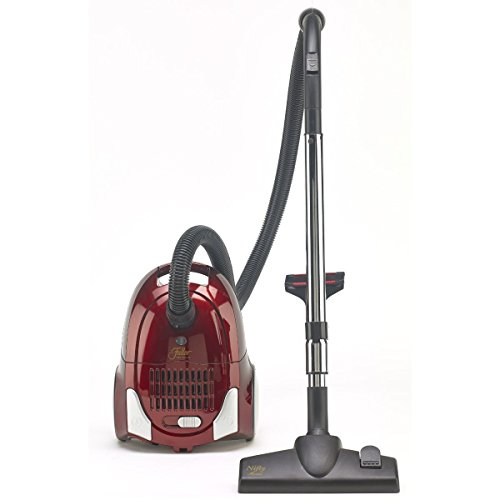 Fuller Brush Nifty Maid Canister Vacuum Metallic Red FB-NFM