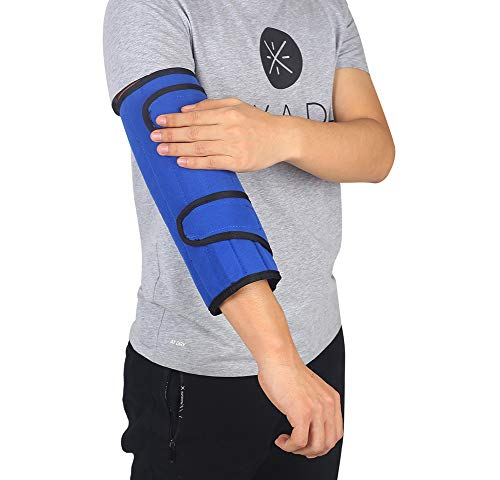Ulnar Nerve Brace Elbow Splint Arm Support Cubital Tunnel Fracture Immobilizer Elbow Braces Adjustable Medical Stabilizer for Men Womens Youth Large Pm Night Time Sleeping Immobilizing Equipment(L)
