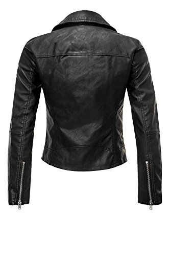 jacket Only by onlSUMMER Blue biker Noir aIH0xnqT5w