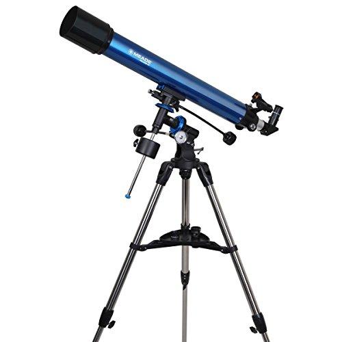 Meade Instruments 216003 Polaris 90 EQ Refractor Telescope (Blue) by Meade