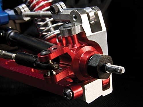 Traxxas Slash 4X4 / Stampede 4X4 VXL / NOS Deegan 38 / Rustler 4X4 VXL Upgrade Pièces Aluminium Front Knuckle Arm - 1Pr Set Green