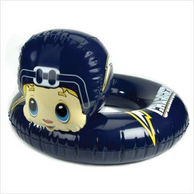 NFL 3-6 Years Inflatable Mascot Inner Tube NFL Team: San Diego - Floats Nfl Team Pool