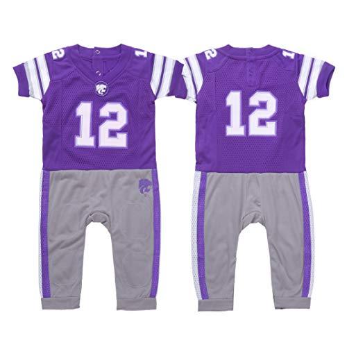 FAST ASLEEP NCAA Kansas State Wildcats Boys Infant Football Uniform Pajamas a76d54f17