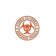 Zombie Outbreak Response Vehicle Type II Sticker Die Cut Decal hunting